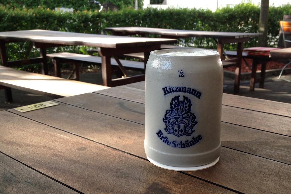 Kitzmann BräuSchänke mug (photo: Tim Kalbitzer)