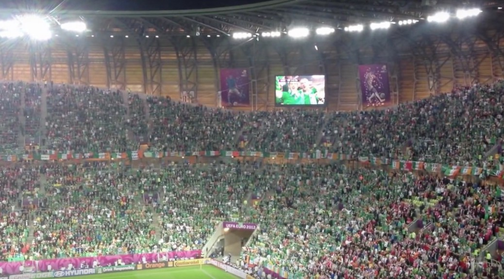 The Fields of Athenry, Spain gegen Irland, UEFA EURO 2012 (Foto: Screenshot von YouTube)