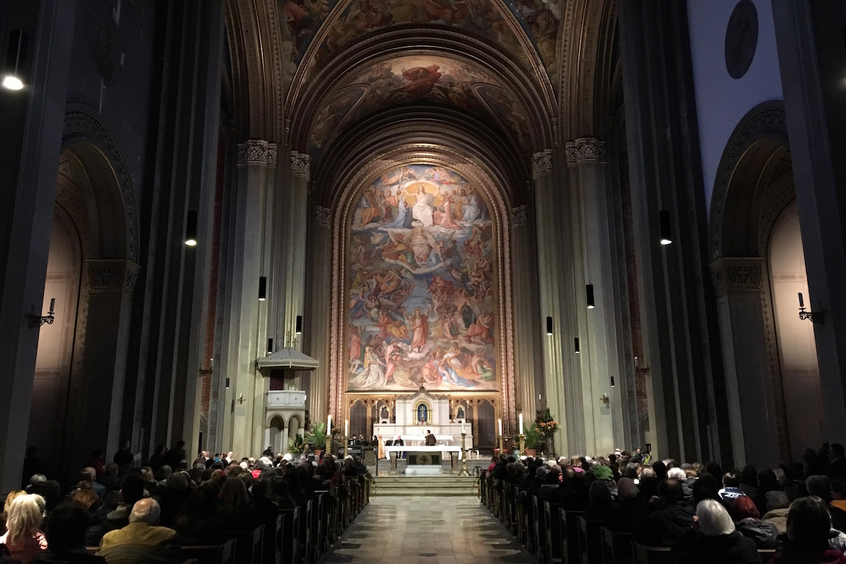 Celebrate St. Patrick in der Ludwigskirche (Foto: Tim Kalbitzer)